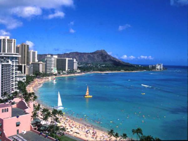Hawaiiwaikikibeach